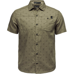 Black Diamond Solution T-shirt Heren, sergeant print